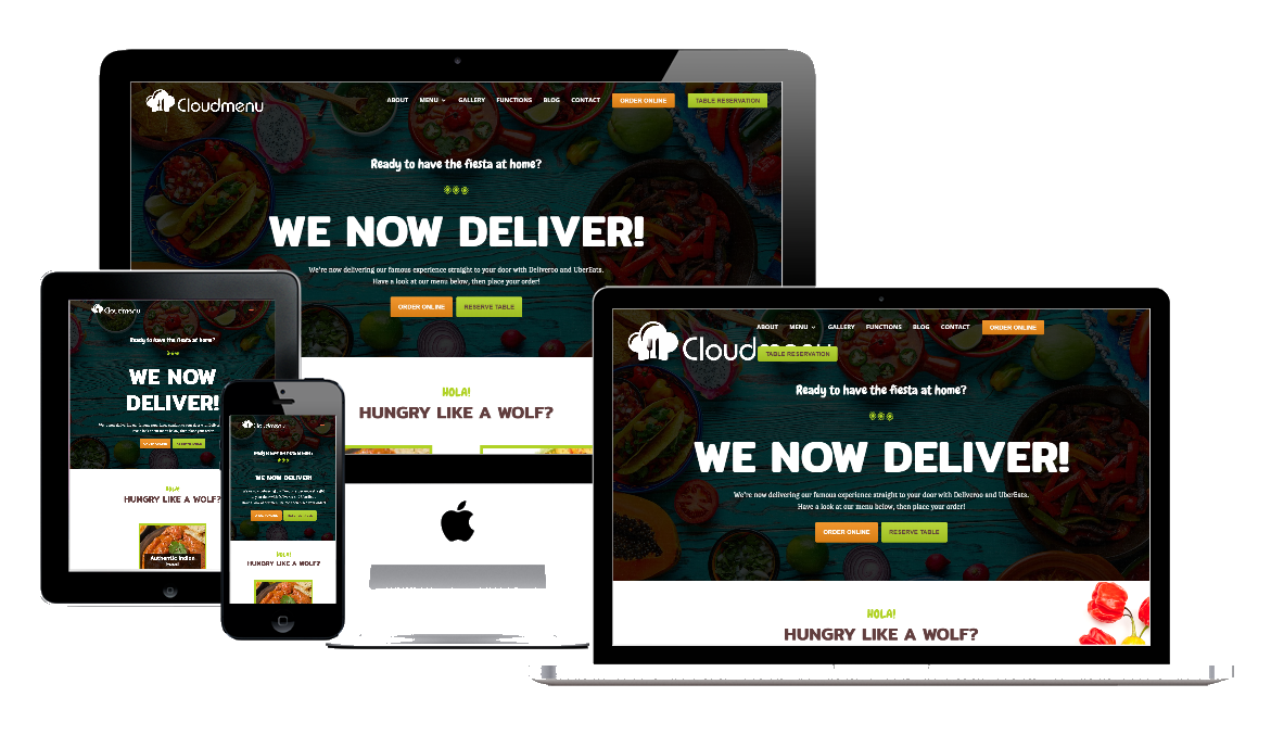 CloudOrders - Online ordering for Restaurant